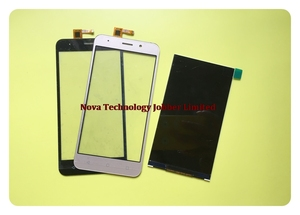 Image 1 - Wyieno Black/Golden LCD Display 15 22211 3259 2 For Vertex Impress Luck LCD Screen Display Touch Screen Digitizer + tracking