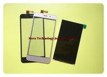Wyieno Schwarz/Goldene LCD Display Für Vertex Beeindrucken Luck LCD Display Touchscreen Digitizer Ersatz + tracking