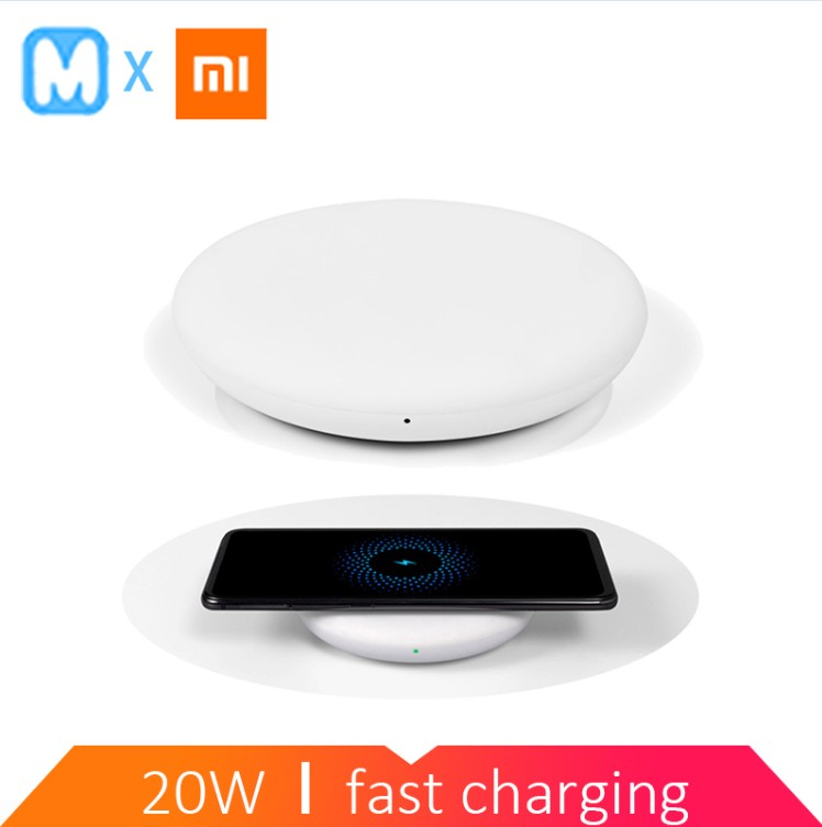 Xiaomi Wireless Charger 20W ( Fast wireless flash charging / independent silent fan / with Qi charging standard )