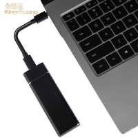 Tipo-c gen2 usb3.0 mini externo portátil móvel de alta velocidade disco rígido externo ssd 1 tb 512 gb 256 para telefones do disktop do portátil
