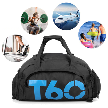 Dry Water Wet Separation Men Fitness Bag Waterproof Gym Sport Women Bag Outdoor Fitness Portable Ultralight Yoga Sports Bag 6