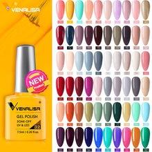 VENALISA FASHION − Vernis à ongles gel UV, contient 7,5 ml, à trempage, produit cosmétiques, manucure, pédicure, beauté des mains, laque, pour femmes