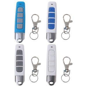 Image 1 - 새로운 433MHZ 4 버튼 복제 원격 제어 무선 송신기 전기 복사 컨트롤러 키 체인으로 도난 방지 잠금 키