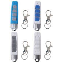 Nouveau 433MHZ 4 boutons Clone télécommande sans fil émetteur électrique copie contrôleur Anti vol serrure clé avec porte clés