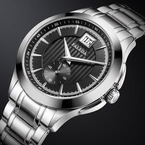 Image 1 - Retro Mens Business Watches Sapphire Top Luxury Brand Quartz Watch Men Casual Stainless Steel Waterproof Clock Relogio Masculino