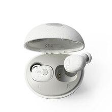 Whizzer T2 TWS صحيح اللاسلكية سماعات سماعات الأذن بلوتوث صغير سماعات 5.0 IPX6 للماء السيارات الاقتران للرياضة تشغيل