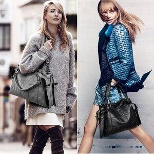 Image 5 - Fashion Designer Women Handbag Female Genuine Leather Bags Handbags Ladies Portable Shoulder Bag Office Ladies Causal Bag Totes