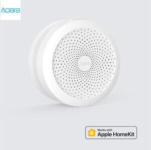 Image 2 - Nuovo Gateway Aqara Hub M1S originale con luce notturna a Led RGB Smart work con per Apple Homekit aqara smart App
