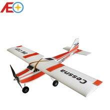 จัดส่งฟรี EPP เครื่องบิน Cessna RC โฟมเครื่องบินเครื่องบิน Wingspan 960mm EPP Slow Flyer