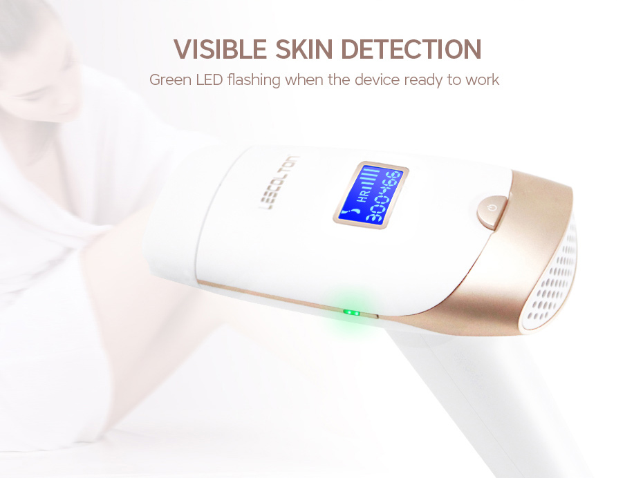 Lescolton 2in1 IPL Epilator Hair Removal LCD Display Machine Laser Permanent Bikini Trimmer Electric depilador a laser