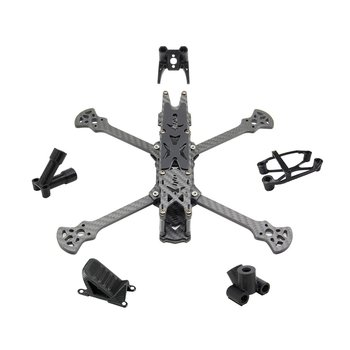 HGLRC SectorV2 HD Freestyle 3K Carbon Fiber Frame Kit 5 Inch / 6 Inch / 7 Inch Wheelbase for RC Drone FPV Accessories