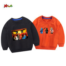 cool kids sweatshirts boys ninjago costume t shirt funny sweatshirt 2019 autumn Pullover Fashion toddler girl Cotton hoodie