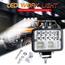 78W Car LED Work Light Bar Driving Lamp For Offroad Boat Tractor Truck 4x4 SUV Fog Light 12V 24V Headlight For ATV Led Bar стоимость