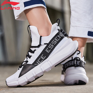 Image 2 - Li Ning Men ESSENCE LACE UP Basketball Leisure Shoes Mono Yarn Meduim Cut LiNing li ning Sport Shoes Sneakers AGBP009 XYL250