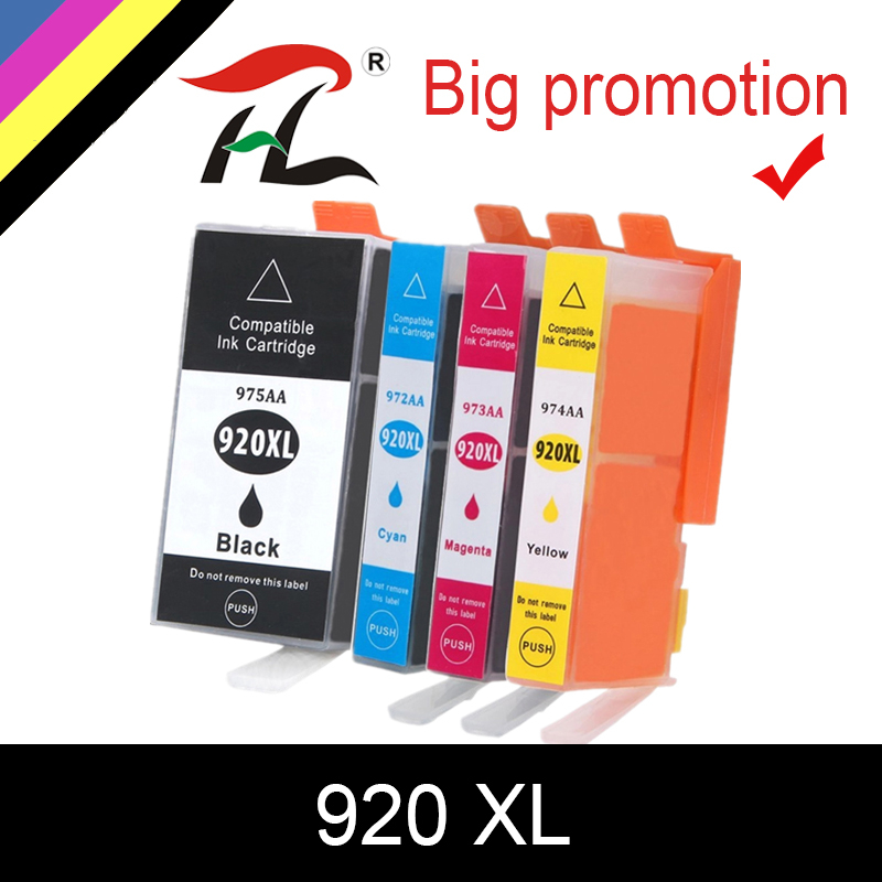 HTL 920 compatible ink cartridge for <font><b>HP</b></font> 920XL For HP920 Officejet 6000 <font><b>6500</b></font> 6500A 7000 7500 7500A <font><b>printer</b></font> with chip image