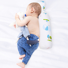 Cylinder 100% Cotton Baby Pillow for Newborn Plant Filler No Odor Safe Healthy Baby Side Pillow Prevent Impact and Suffocation