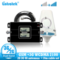 Lintratek Россия 2G GSM 900 3g 2100 сотовый ретранслятор сигнала Усилитель GSM WCDMA UMTS 2100 2G 3g 4G сигнальная антенна