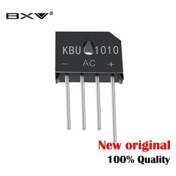 5PCS/LOT KBU1010 KBU-1010 10A 1000V ZIP Diode Bridge Rectifier diode new and original generator diode bridge 432