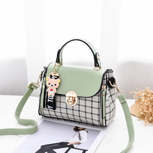 2020 New PU Candy Color Female Crossbody Bag Soft Material Women's Luxury Shoulder Casual Bag Fashion Travel Quality Messenger