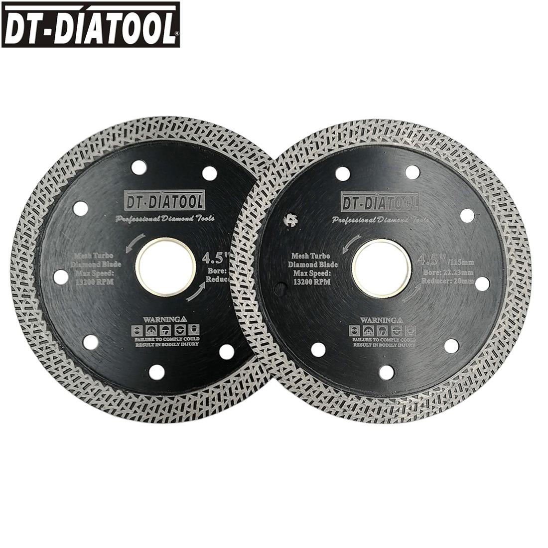 DT-DIATOOL 2pcs Diameter 115mm/4.5