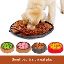 Pet Snuffle Mat Washable Dog Smell Training Stress Release Nosework Blanket Consume Energy Puzzle Toys