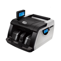 Multi currency UV MG IR fake note detection cash money detector counting machines machine bill Counters banknote counter