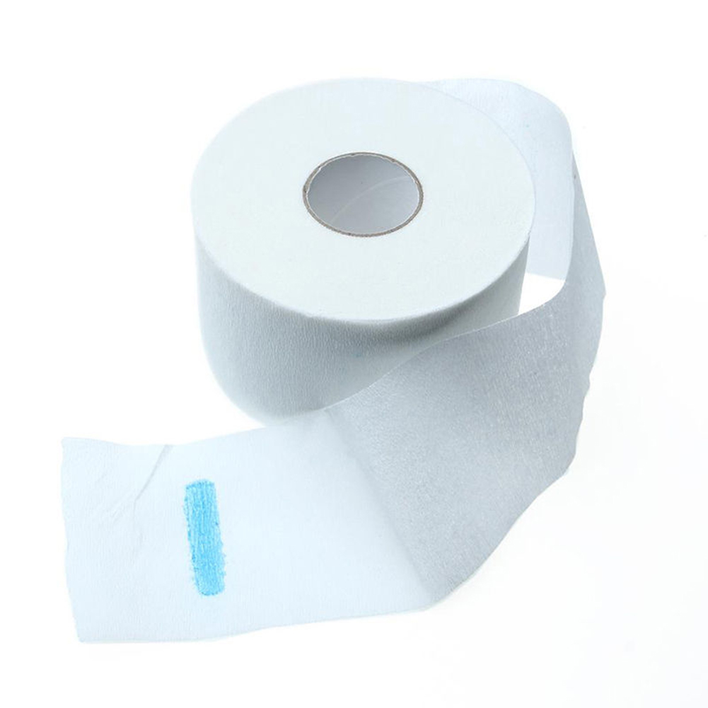 2020 New 1 Roll Neck Paper Stretchy Disposable Convience Cutting Dressing Hairdressing Collar Accessory Necks Covering Hair Cut