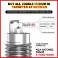 4 шт. двойной Иридиевый Свеча зажигания D-4759 для IKR7D ZKR7A-10 SXU22PR9 VXU22 IXU22 90048-51200 DCPR7EIX-P IRIMAC8 90048-51199 DCPR7EI