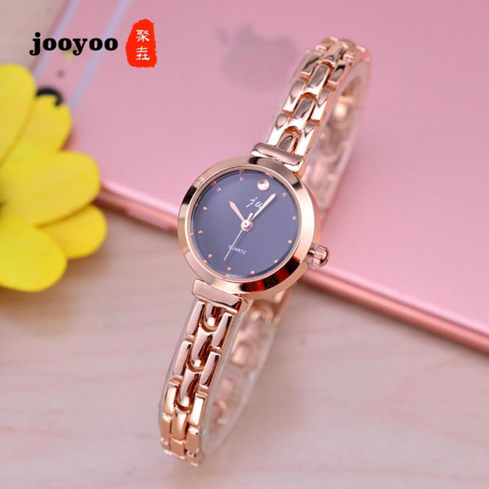 New Fashion Rose Gold Watches Women Luxury Brand Stainless Steel Bracelet Watches Ladies Quartz Dress Watches Reloj Mujer Clock