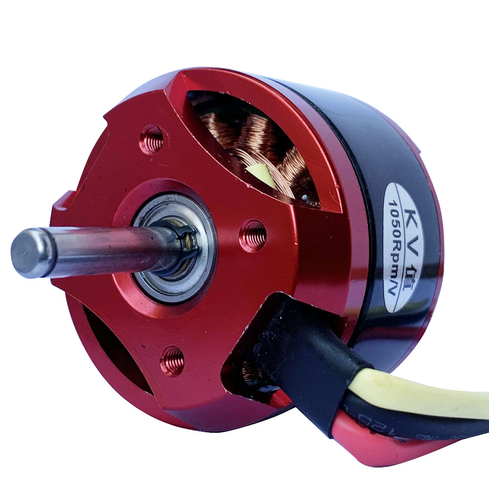 1pc 4240 Swiss Motor Brushless Outrunner DC Motor Strong Power Supply 1050KV Large Torque External Rotor Motor With Large Thrust