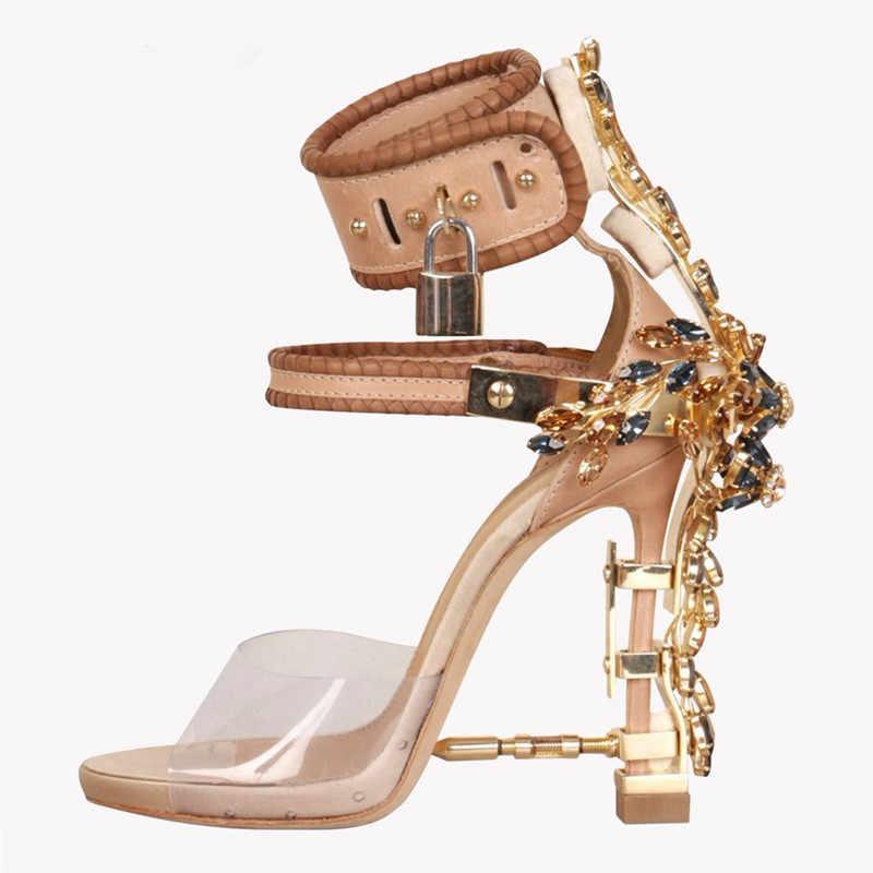 designer gladiator heels