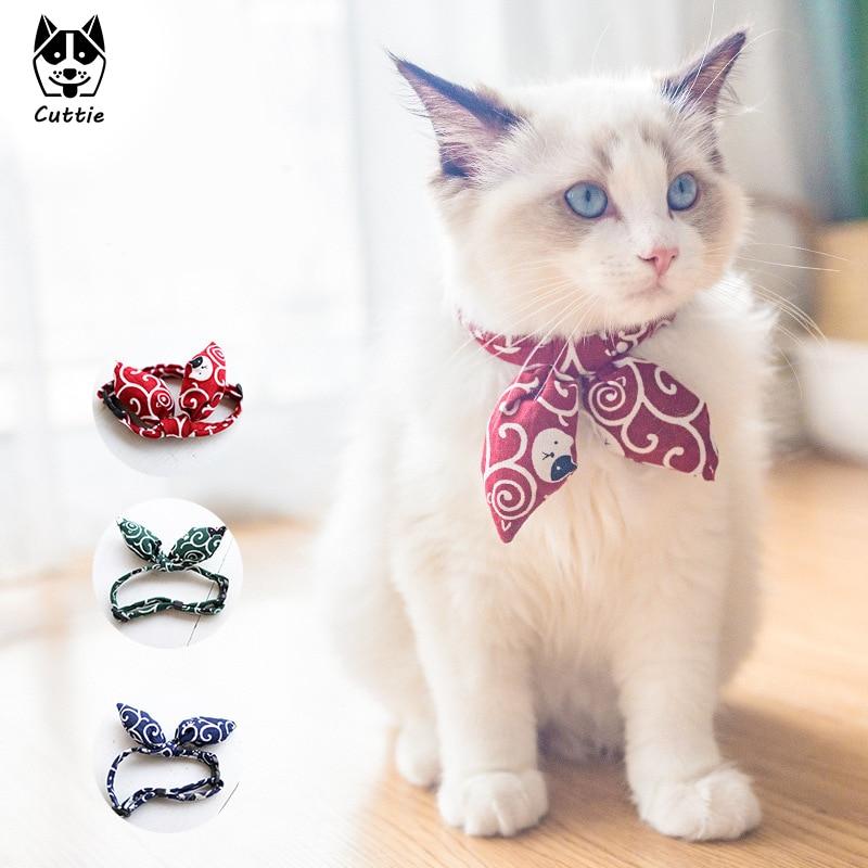 Colar de gravata borboleta para gatos e cães pequenos acessórios gato-colar gatinho produtos para animais de estimação chihuahua