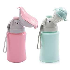 500ML Baby Portable Urinal Toilet Boy Girl Cars Travel Supplies Potty Training 1pc