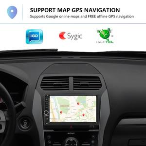 "Image 3 - Podofo 2din Android 8,1 Auto Radio WIFI GPS navi Auto Multimedia Player universal 7 ""audio Stereo Für Volkswagen Nissan hyundai Kia"
