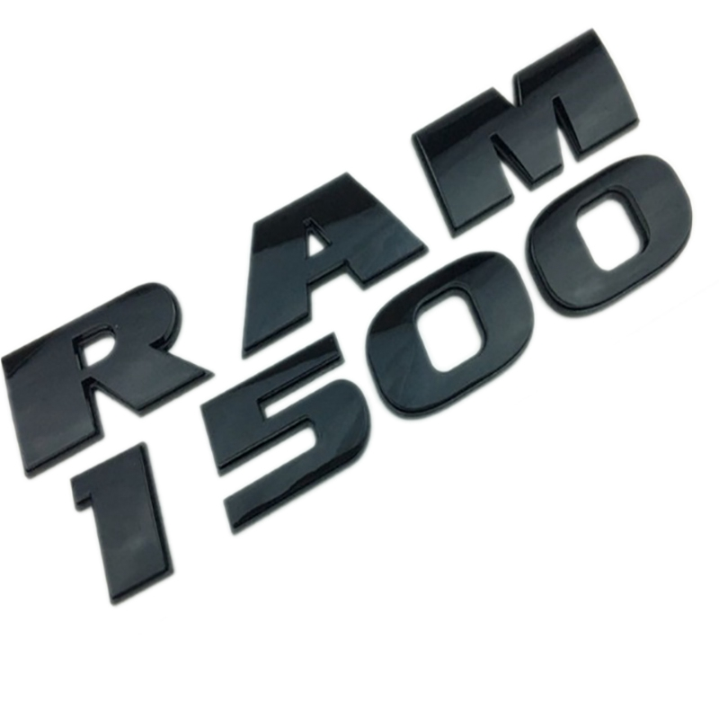 DIY Car Styling Auto ABS Decal Sticker Badge Emblem Universal for Car Dodge Ram 1500 Black|Emblems| |  - title=