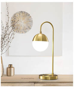 Retro LED Wall Light Modern glass table lamp bedroom Light Creativity Bedroom Bedside