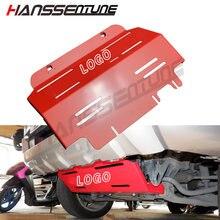 Hanssentune 4wd передняя защита противоскользящая пластина защитная