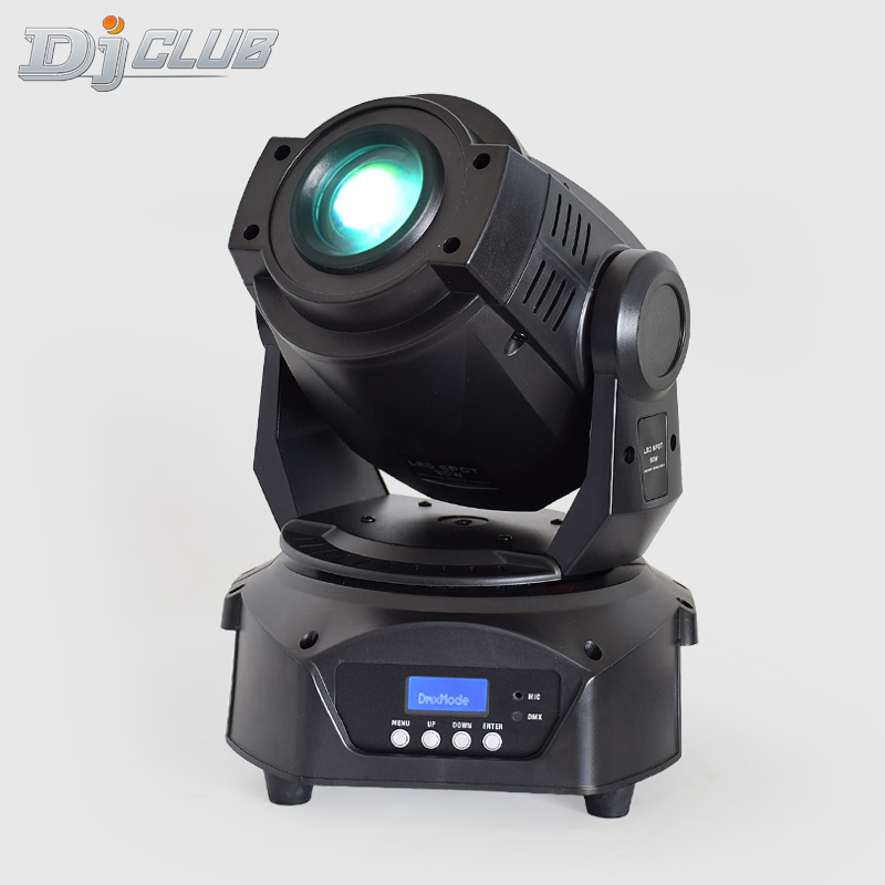 90w Led Moving Head Spot Light DMX Gobo Color Focus 3 Facet Prism Effect Lightings For Disco Club Stage Wedding Party Decoration