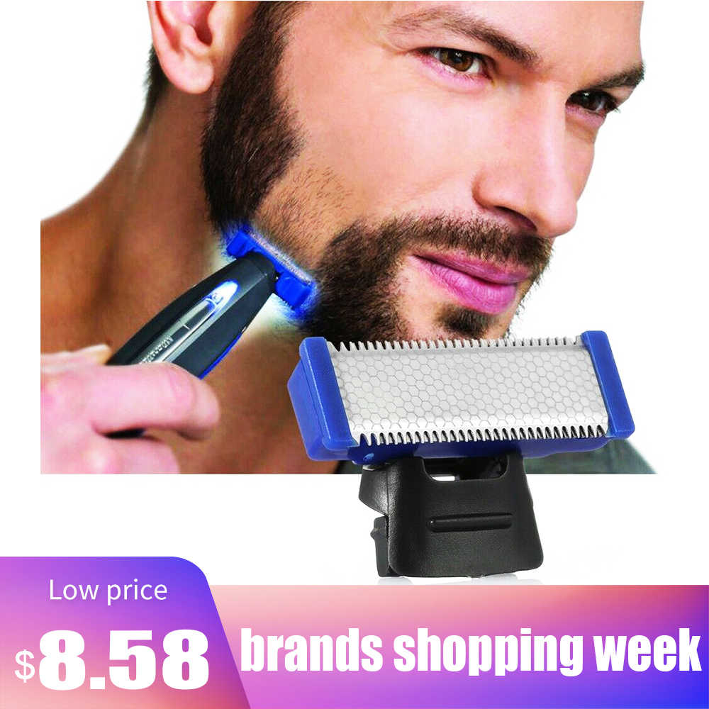 SOLO Replaceable Shaver Head Accessories Micro-Touch Solo Electric Razor Beauty Beard Shaver Cleaning Machine Razor
