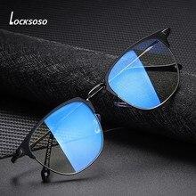 LOCKSOSO – lunettes Anti-lumière bleue pour hommes et femmes, jeu d'ordinateur, Anti-Radiation, bloquant les rayons bleus