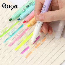 highlighters colores label pen fluorescent painting pens