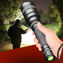 CREE XHP70.2 32w Powerful Tactical LED Flashlight Torch 18650 Battery Adjustable Focus Bulbs Hard Light Zoom Lens Waterproof 30W(China)
