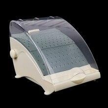 142 Holes Dental Burs Bur Block Holder Holds /Holder Station+Pull Out Drawer