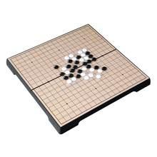 Weiqi – jeu de société chinois pliable et magnétique, pour enfants et adultes, jeu d'intelligence éducative