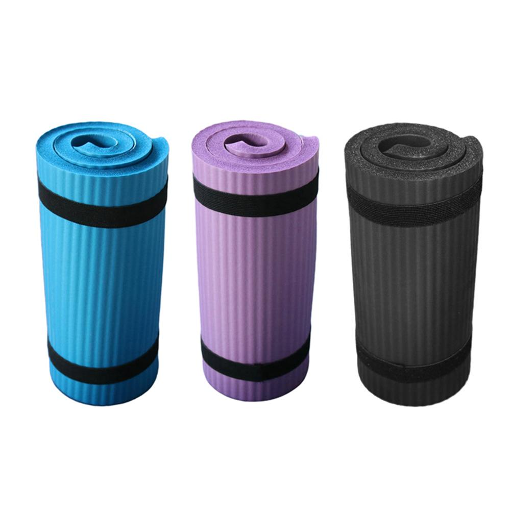 Yoga Mat Thick NBR Yoga Pad for Workout Training Abdominal Exercise 21