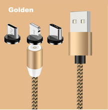 Magnet Cable Magnetic Micro USB For iPhone Usb Fast Charging C 1M 2M Custom Color
