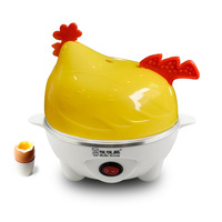 Manufacturers Direct Selling Multi functional Chickens Egg Boiler Household Mini Cartoon Egg Steamer Automatic Power Integral Gi