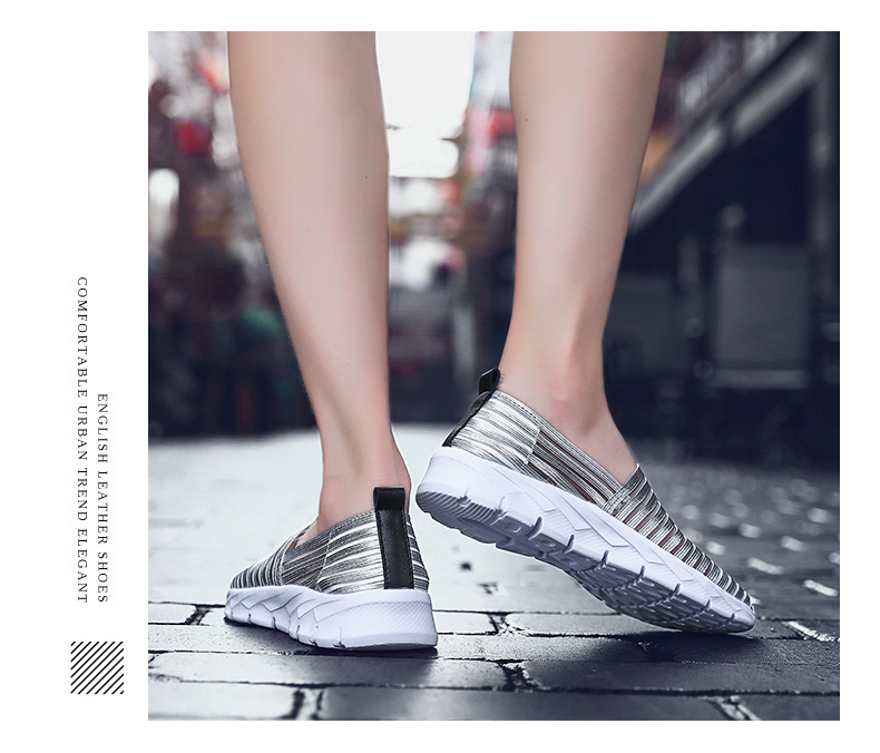 Women Flats Shoes Woman Loafers Slip-ons Platform Ballet Sneakers (3)