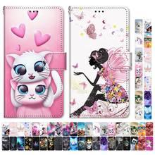 Bolsa de celular para samsung galaxy, bolsa adorável para meninos e meninas, a50, a500, a510, a520, a5, 2015, 2016 e 2017 gato gatinho tigre d08f