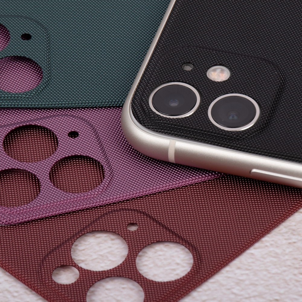 3D For IPhone 11 Pro Max 11 Cloth Pattern Soft Back Films For IPhone 11 Pro 11Pro Max Colorful Phone Back Screen Protective Film